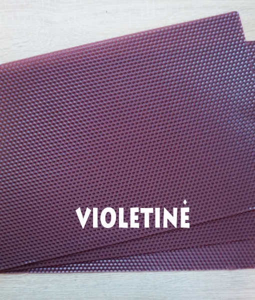 Violetinė vaškuolė