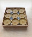 Arbatinės bičių vaško žvakės